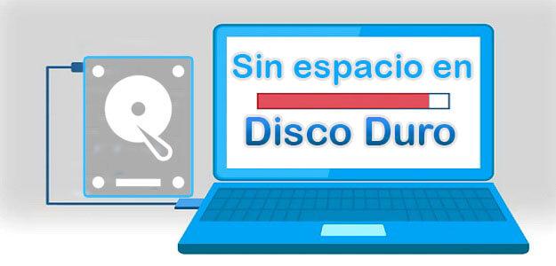 HDD Sin Espacio